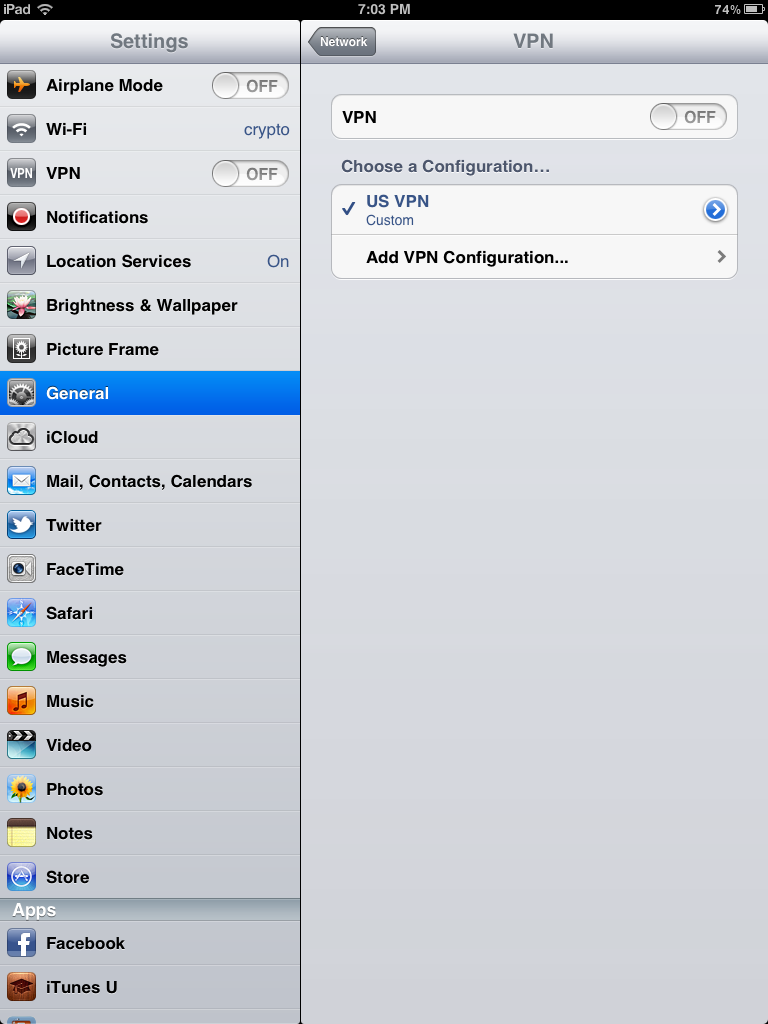 Watching BBC Iplayer on an iPad in the US – Setting Up an iPad VPN – Using a USA Proxy Site